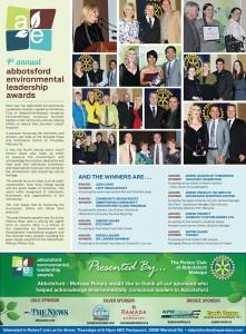 Environmental Leadership Award Newspaper