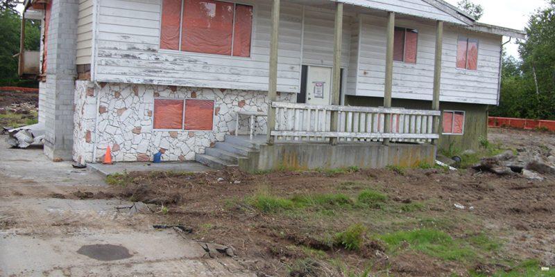 A Langley Home Teardown