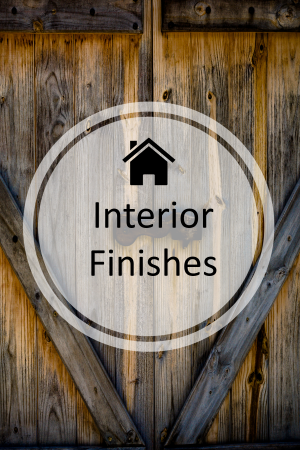 Interior Finishes a