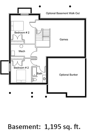 Floor Plan Basment