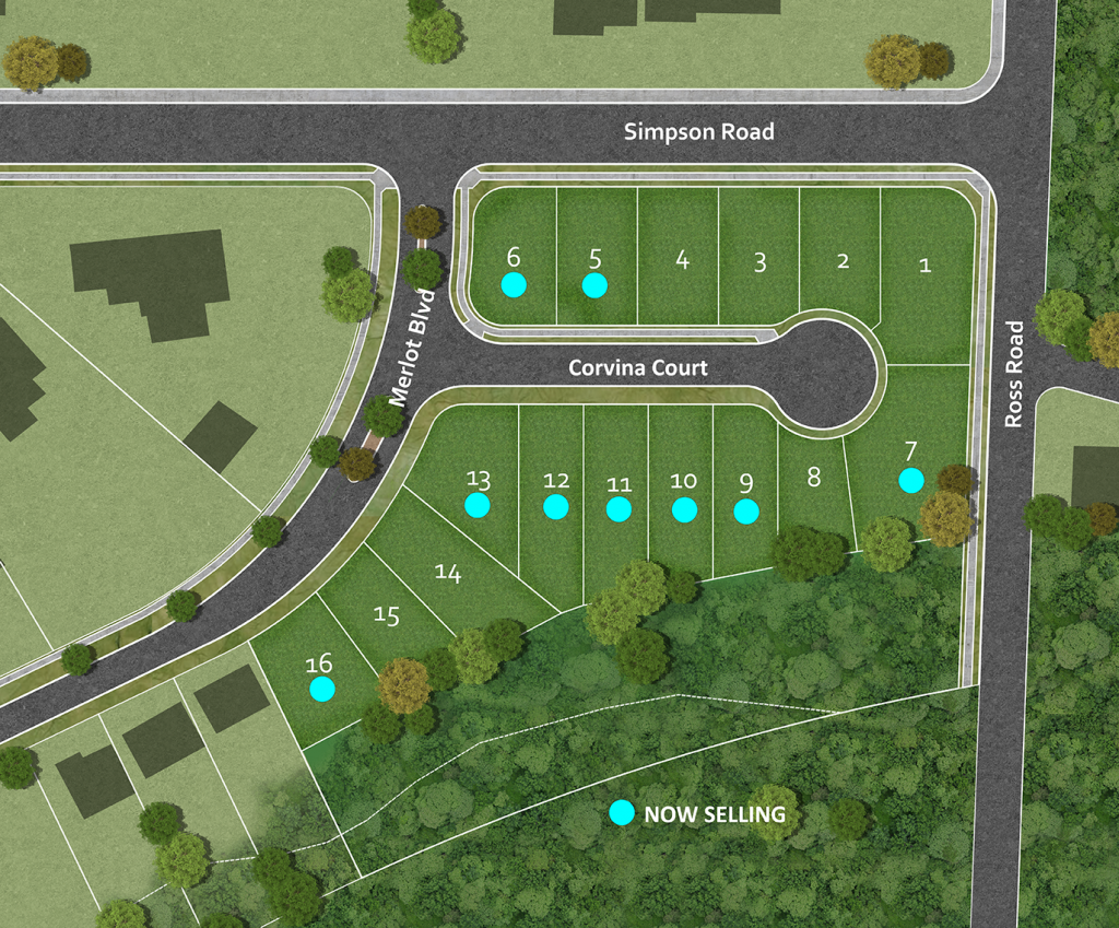 Vine Site Plan NOW SELLING a